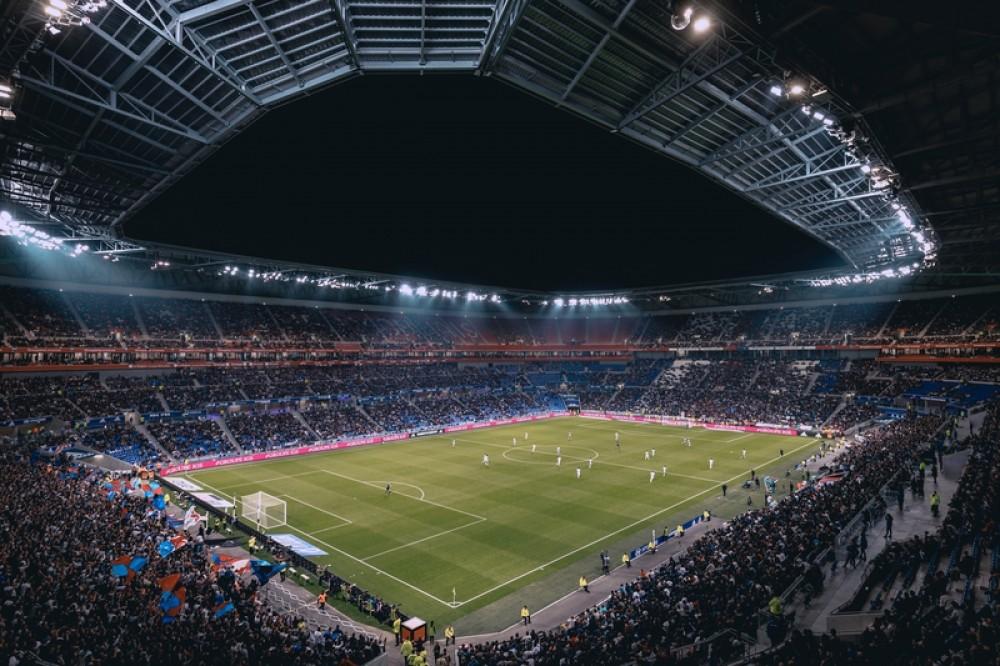 Olympique Lyonnais, Stadin, Piłka nożna