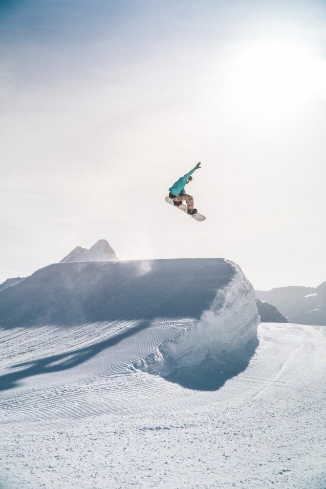 Snowboard, freestyle, zima, sporty zimowe